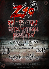 Metal Festival Simulation - 26.+27.07.