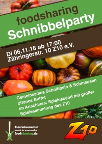 Foodsharing-Schnibbelparty